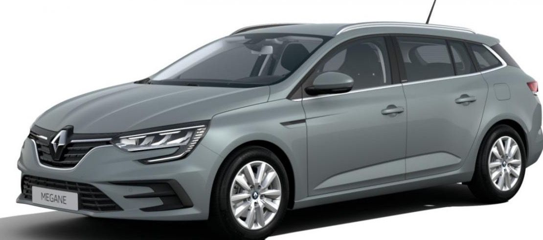 Gewerbe: Renault Megane Grandtour Zen E Tech Plug In Hybrid mit 160 PS für 97,64€ nettomtl.   LF: 0.43