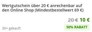 20€ ZooRoyal Wertgutschein für 10€   mit 69€ MBW