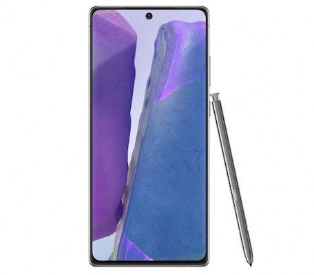 Samsung Galaxy Note 20 mit 256GB für 1€ + Vodafone Flat mit 30GB LTE für 30€ mtl.