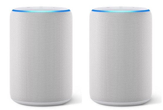 2er Set Amazon Echo (3. Generation) Smart Speaker für 109,86€ (statt 140€)