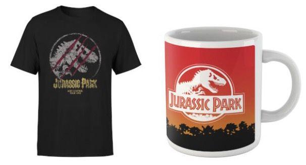 Jurassic Park T Shirt + Tasse für 11,48€ (statt 21€)