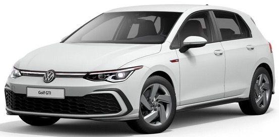 Privat: VW Golf 8 GTI DSG mit 245 PS für 259€ mtl.   LF: 0.67