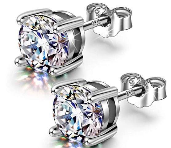FANCI Ohrringe aus 925 Sterling Silber für 10,99€ (statt 29€)   Prime