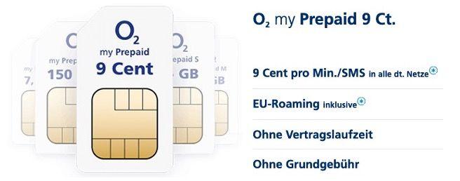 O2 Netz mal testen? Prepaid SIM mit 1€ Guthaben kostenlos bestellen