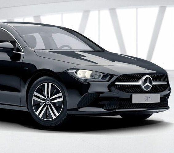 Gewerbe: Mercedes CLA 250e Shooting Brake mit 262 PS für 169€ mtl. netto – LF 0.45