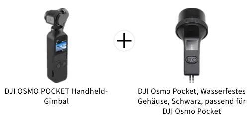 DJI Osmo Pocket 3 Achsen Gimbal + Unterwassergehäuse für 209€ (statt 274€)