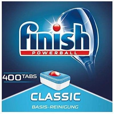 400x Finish Powerball Classic Regular Spülmaschinentabs für 31,99€ (statt 40€)