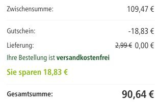 Preisfehler? 18% Rabatt auf alles bei Fressnapf ab 59€ Mindestbestellwert   schnell sein!
