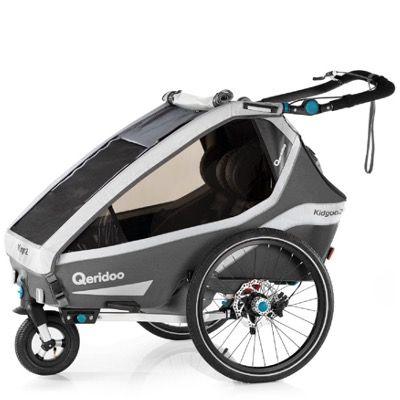 Qeridoo Kidgoo2 Sport (2020) Baby-Jogger und Anhänger für 579€ (statt 649€)