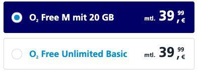 Apple iPhone 11 für 1€ + o2 Flat mit 20GB LTE für 39,99€ mtl.