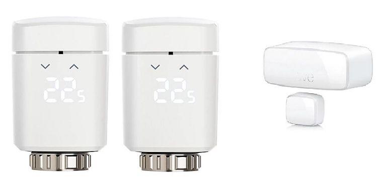 2er Pack Eve Thermo Thermostate + Door & Window Kontakt für 99,90€(statt 165€)