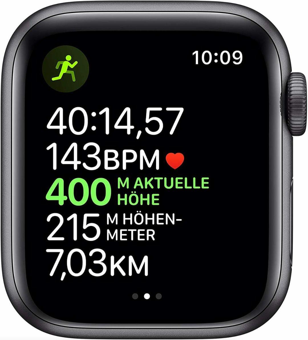 Apple Watch Series 5 GPS + LTE 40mm für 269,91€ (statt neu 390€)   Retourengeräte