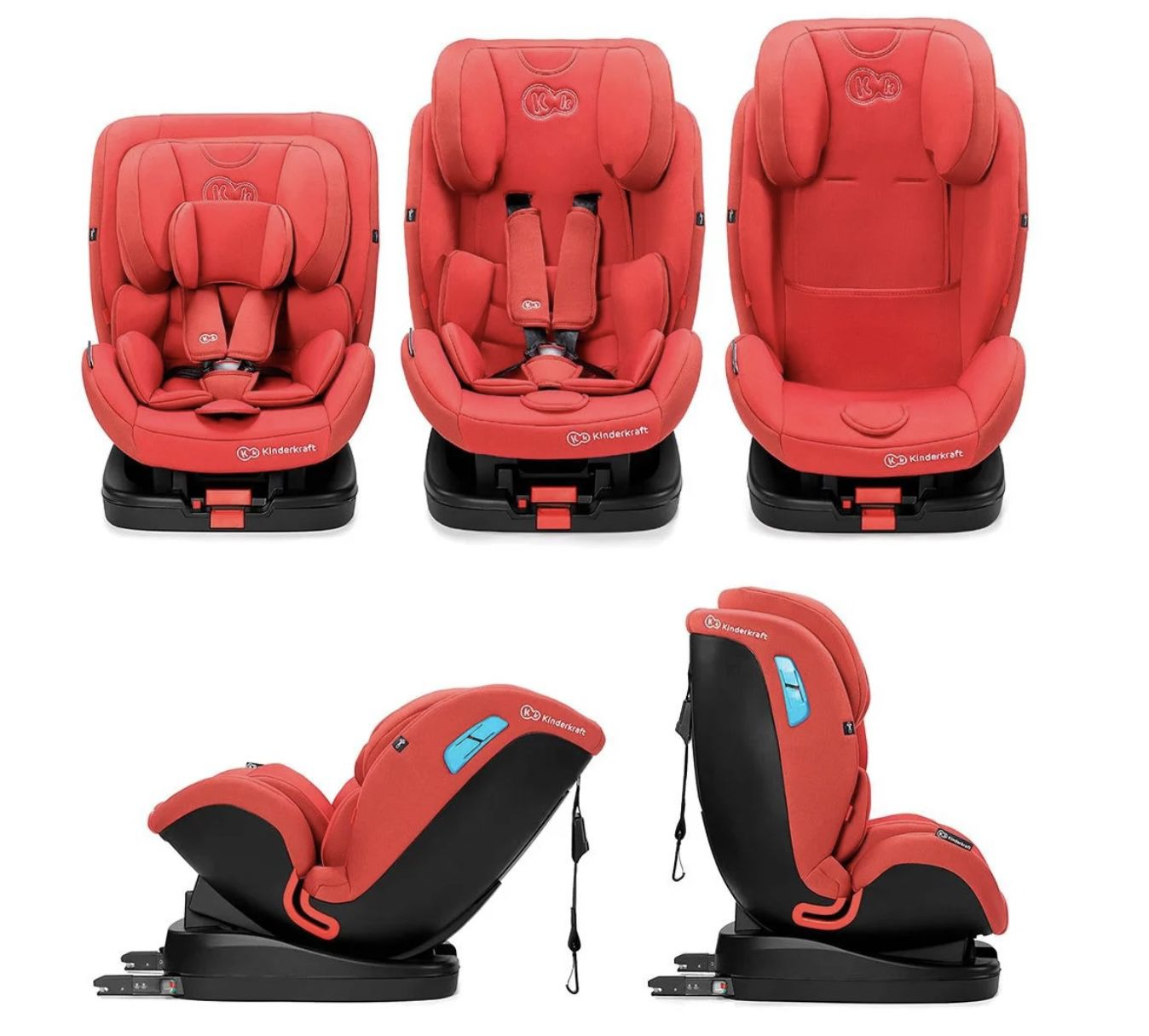 Kinderkraft Kindersitz Vado Red für 129,99€ (statt 170€)