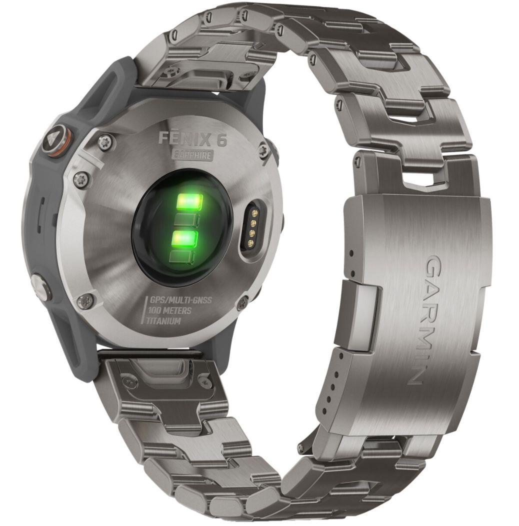 Garmin Fenix 6 Sapphire Titanium Smartwatch für 549,99€ (statt 715€)