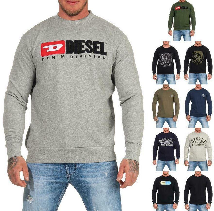 DIESEL Herren Rundhals Sweatshirt bis XL für 39,99€ (statt 55€)