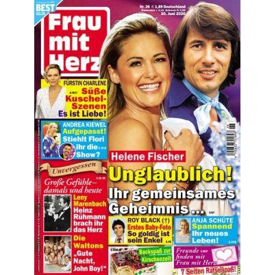 """26 Ausgaben """"Frau mit Herz"""" für 59,80€   Prämie: 60€ Amazon Gutschein"""