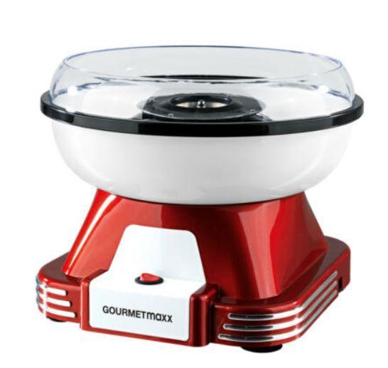 GOURMETmaxx 7329 Zuckerwattemaschine für 29,69€ (statt 35€)