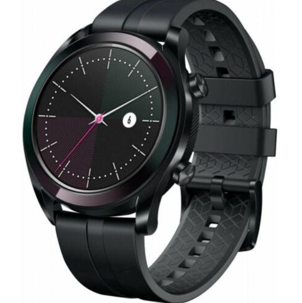Huawei Watch GT Elegant schwarz Smartwatch für 89,91€ (statt 98€)