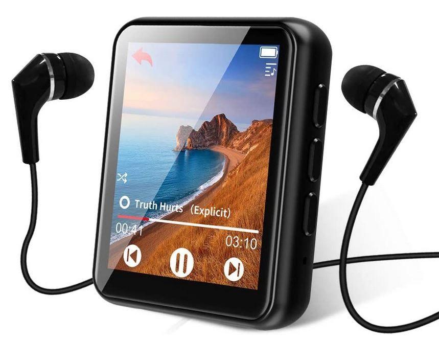 MP3 Player mit Touchscreen und Bluetooth für 17,99€ (statt 30€)