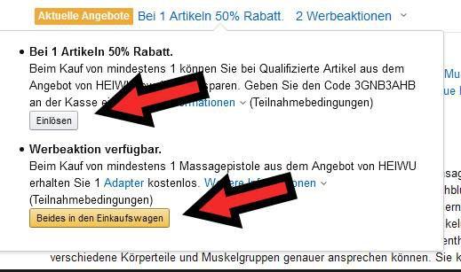 OriHea Massagepistole mit 30 Geschwindigkeiten &  7 Aufsätze für 64,99€ (statt 130€)