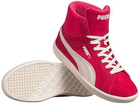PUMA Leder Sneaker First Round Suede für 22,95€ (statt 40€)