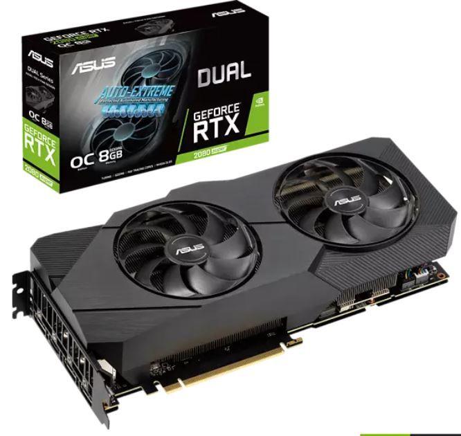 Media Markt GiGaGünstig Sale   günstige PCs u. Hardware   z.B. ASUS GeForce RTX 2080 8GB Grafikkarte für 589,99€ (statt 656€)