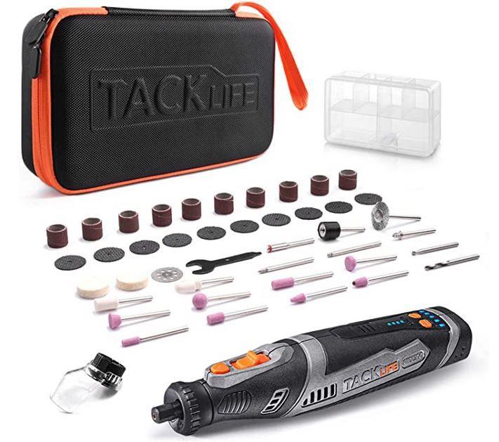 Tacklife RTD02DC Akku Multifunktionswerkzeug 8V mit Zubehör + Tasche für 32,49€ (statt 50€)