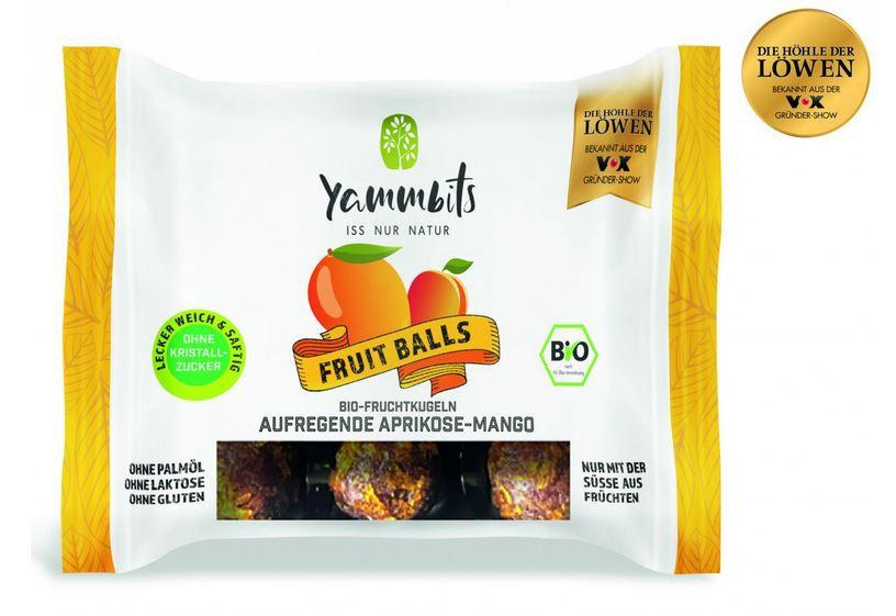 Höhle der Löwen Topdeal heute: Yammbits Fruchtkugeln in 3 verschiedenen Geschmacksrichtungen mit je 70g ab 2,93€