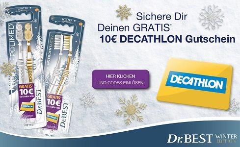Dr. Best Aktionsprodukte kaufen   10€ Decathlon Gutschein abholen