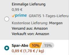 Barilla Nudeln (500g) versch. Sorten ab 0,69€ (statt 1,65€)   Prime