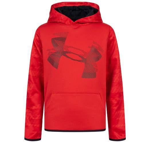 Under Armour Fleece Kinder Hoodie (Gr. 128   170) in Rot für 18,94€ (statt 44€)