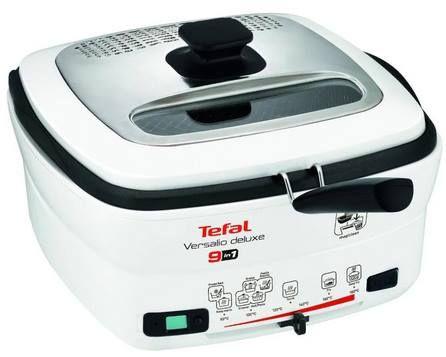 Tefal FR4950 Multi Funktions Fritteuse Versalio Deluxe + Pfannenwender für 60,90€ (statt 75€)