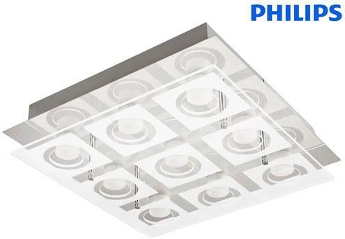 Philips 39517/11/P1   LED Deckenleuchte myLiving Polygon für 75,90€ (statt 152€)