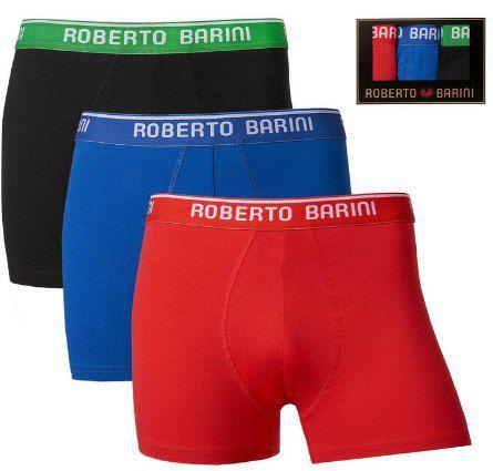 Roberto Barini Herren Boxershorts 3er Pack für 16,99€ (statt 20€)   M   3XL