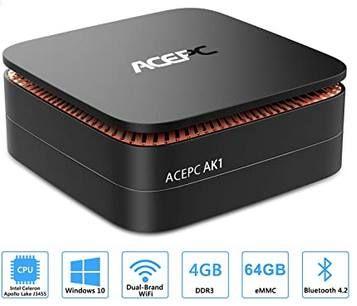 ACEPC Mini PC mit 4GB DDR RAM, 64GB eMMC & Windows 10 Pro für 119,92€ (statt 160€)