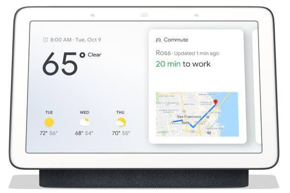Google Nest Hub Smart Display mit Sprachsteuerung für 66,67€(statt 75€)