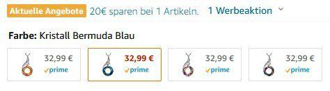 Kate Lynn Nirwana von Phoenix Damenhalskette in 4 Designs für je 12,99€ (statt 33€)