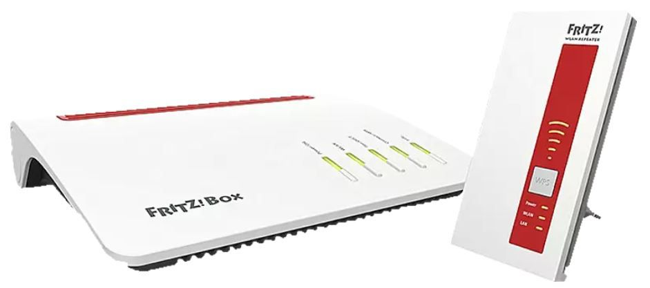AVM FRITZ!Box 7590 + 1750 Repeater für 188,79€ (statt 268€)
