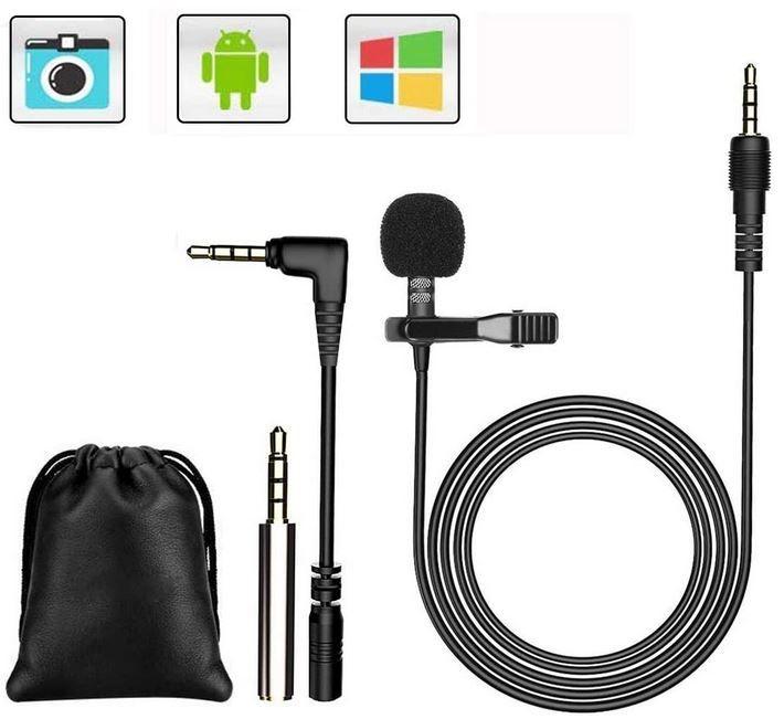 Lavalier Mikrofon für Smartphone und PC für 6,99€ (statt 14€) Prime