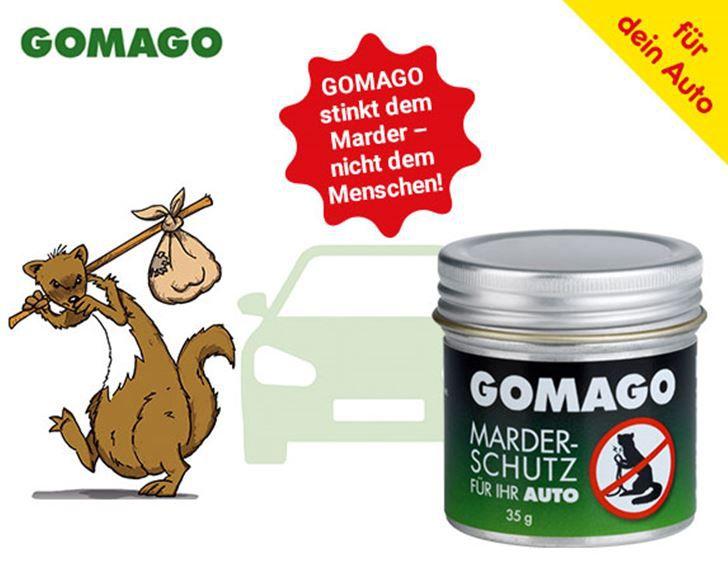 Höhle der Löwen Topdeal heute: GOMAGO Mardervergrämung 2er Set 70g ab 48,72€