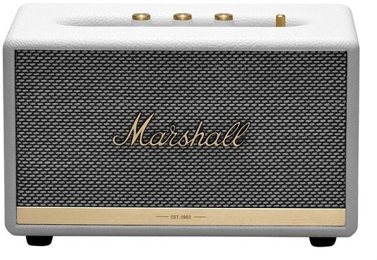 Marshall Acton BT II Weiß Bluetooth Lautsprecher für 159,99€ (statt 183€)