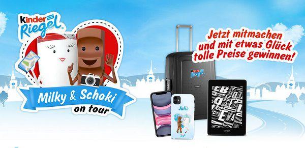 Kinderriegel: Trefft Milky & Schoki auf ihrer Deutschlandtour