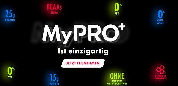 Trinkjoghurt und/oder Skyr Style von MyPRO+ kostenlos ausprobieren
