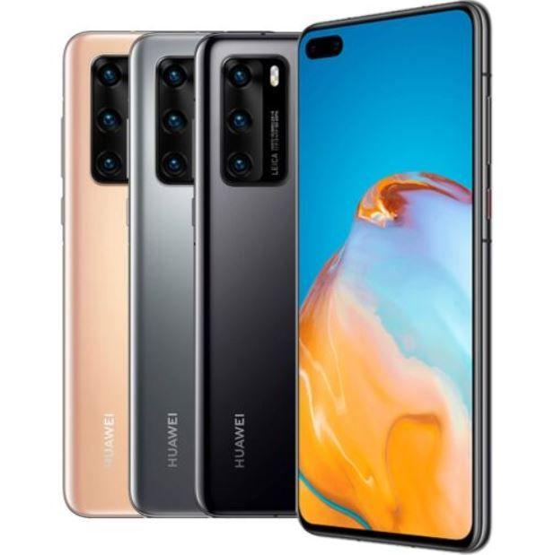 Huawei P40 DualSim 128GB 5G LTE Smartphone Retouren für 341,10€ (statt neu 444€)