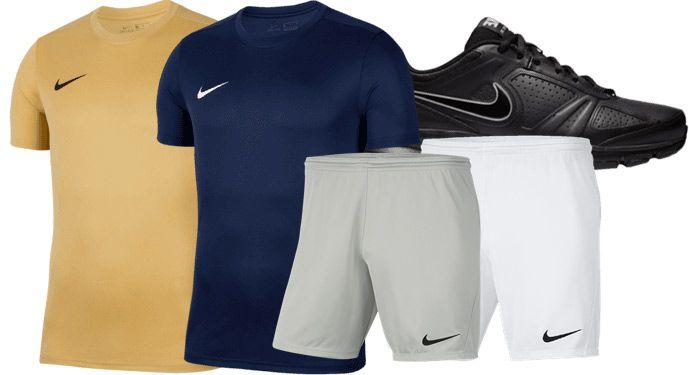 Nike Trainings Outfit Park VII bestehend aus T Shirt, Short & Sneaker für 59,95€ (statt ~70€)