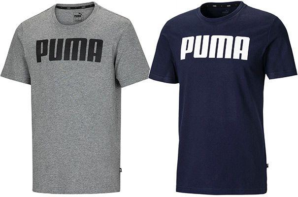 Puma Essentials Big Logo T Shirt in 7 Farben für je 9,51€ (statt 15€)