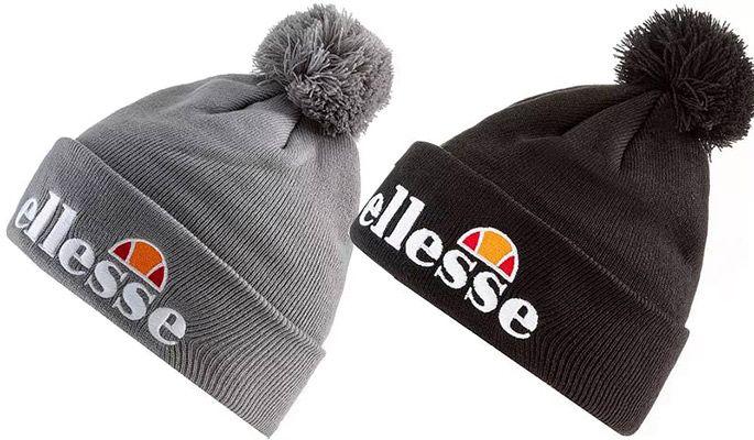 Ellesse Velly Bommelmütze in Grau oder Schwarz für je 15,62€ (statt 21€)