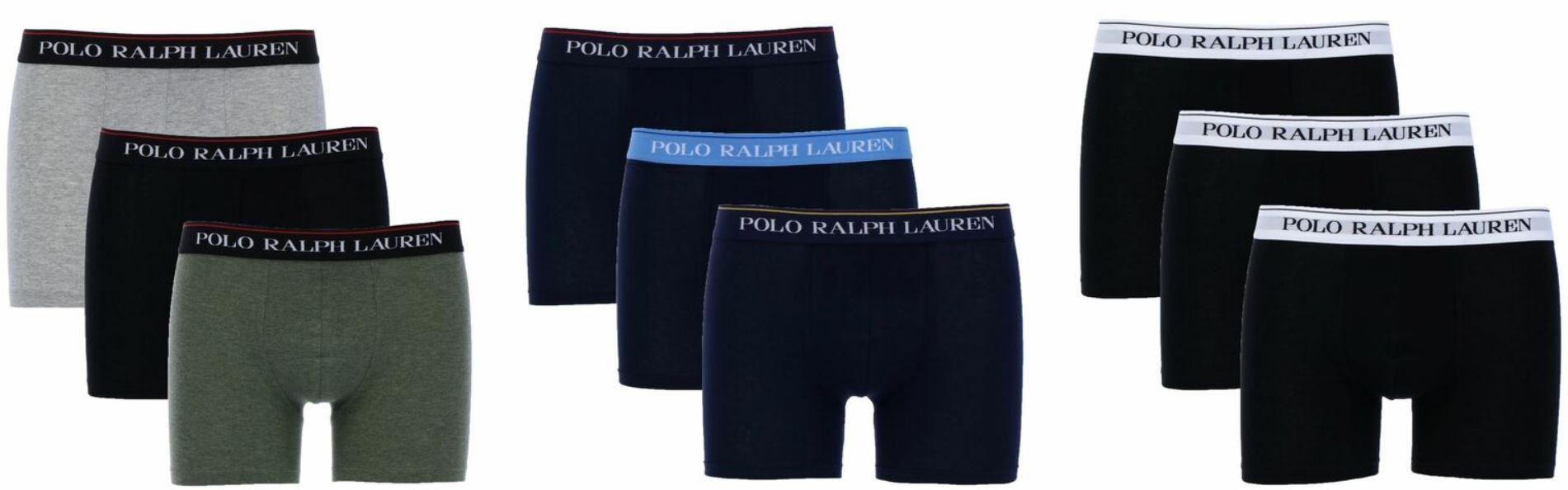 Polo Ralph Lauren 3er Pack Herren Boxershorts für 29,99€ (statt 35€) Restgrößen