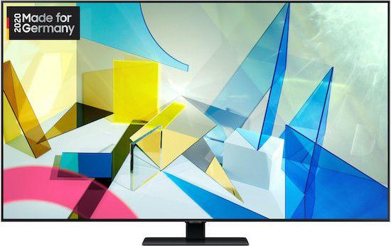 Samsung GQ55Q80T   55 Zoll UHD QLED Fernseher mit HDMI 2.1 für 1.086,75€ (statt 1.205€)