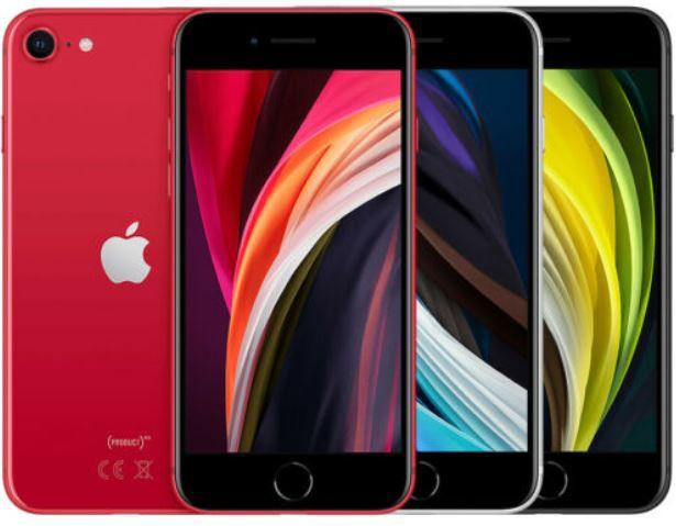 Apple iPhone SE (2020) mit 128GB ab 431,10€ (statt 486€) + 1 Jahr AppleTV